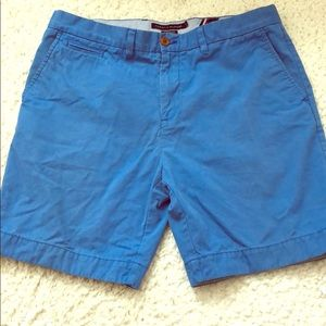 Tommy Hilfiger custom fit blue chino cotton shorts